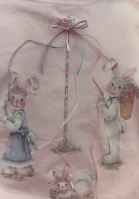 Books For Sale >> Decorative Painting Bookstore: Maypole Bunnies - Sherry Brandt